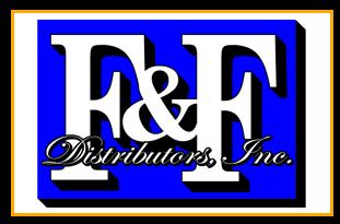 F & F Distributors Incorporated Logo